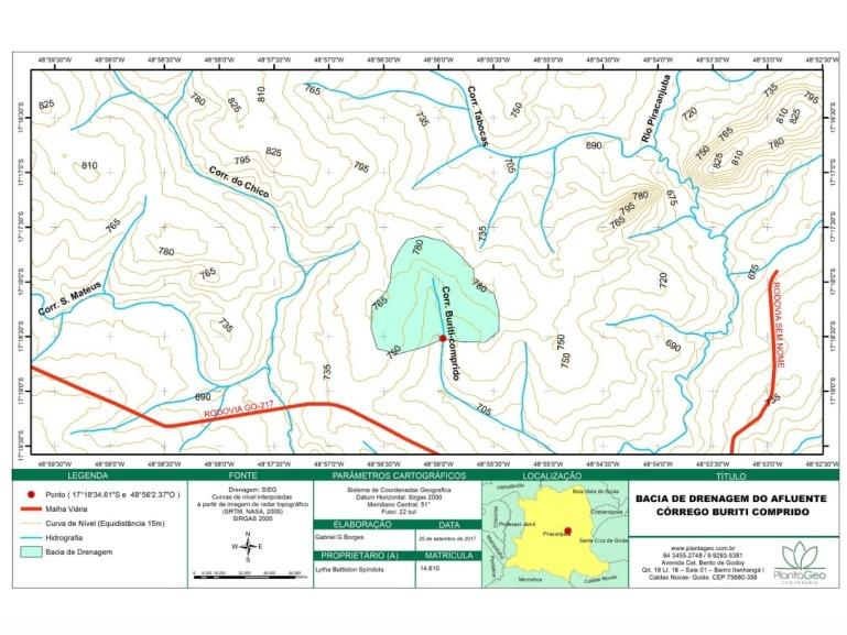 Mapa Bacia Hidrográfica